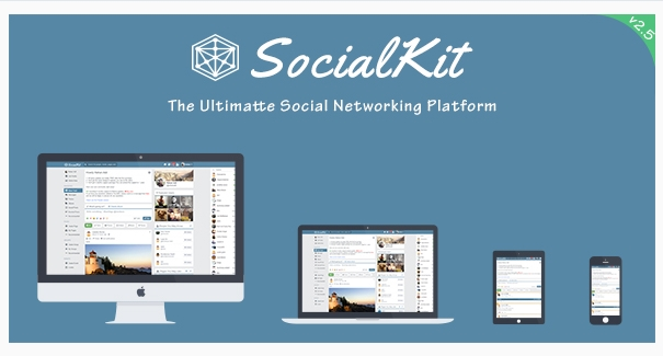 SocialKit - Ultimate Social Networking Platform  Script