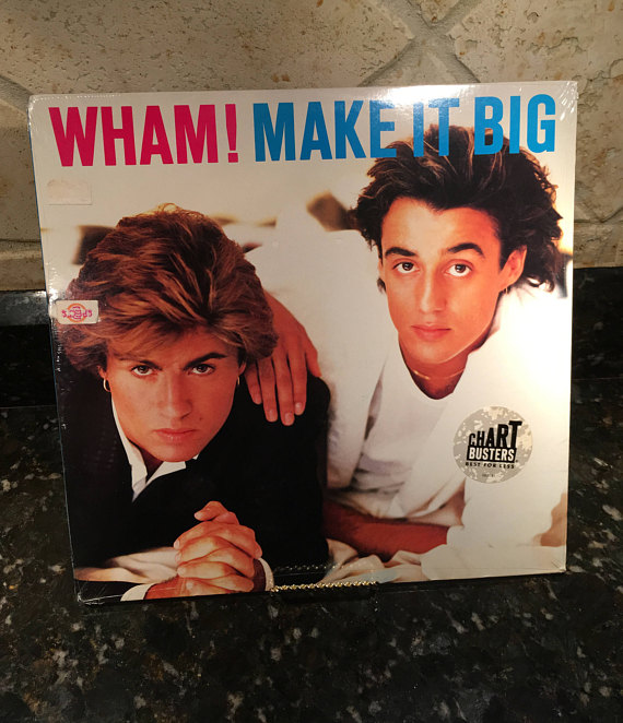 "WHAM! ""Make It Big"" New Vintage Sealed LP ..."