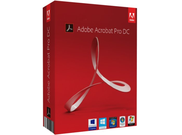 Adobe - Adobe Acrobat Pro DC 2017 for Windows