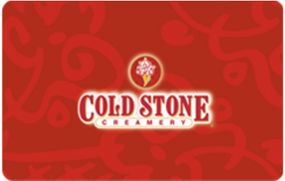 $50 Coldstonecreamery.com Egift card