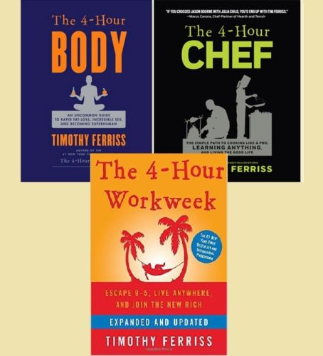 The 4 Hour Chef/Body/Workweek - Timothy Ferriss (EPUB)