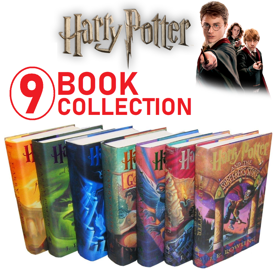Harry Potter Full 9 E-Book Collection - PDF, EPUB, MOBI