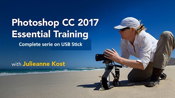 Photoshop CC 2017 Full Tutorial Collection [USB]