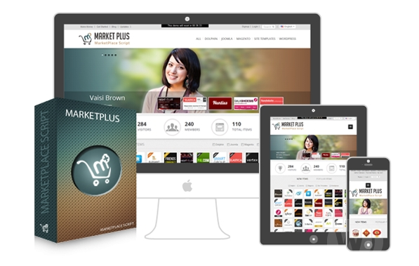 Market Plus v1.5 - themeforest clone script