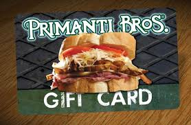 PRIMANTI BROS GIFTCARDS $40 INSTANT DELIVERY