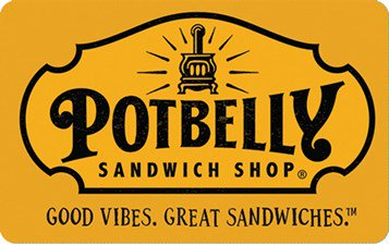 $100 Potbelly Gift Card - INSTANT