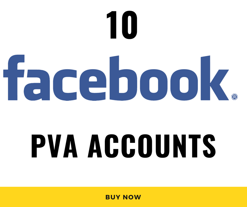 10 Facebook PVA RU accounts
