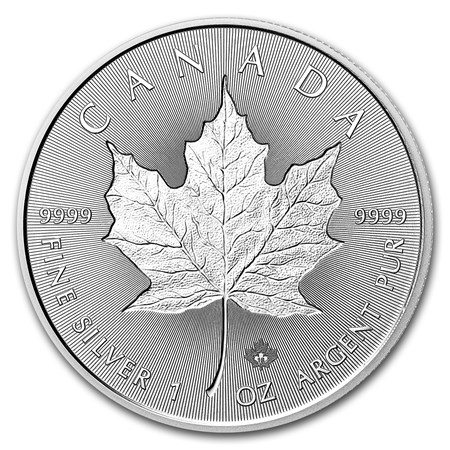 2018 Canada 1 oz Silver Incuse Maple Leaf