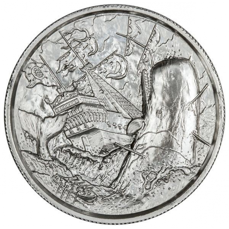 Privateer 2 oz Silver White Whale