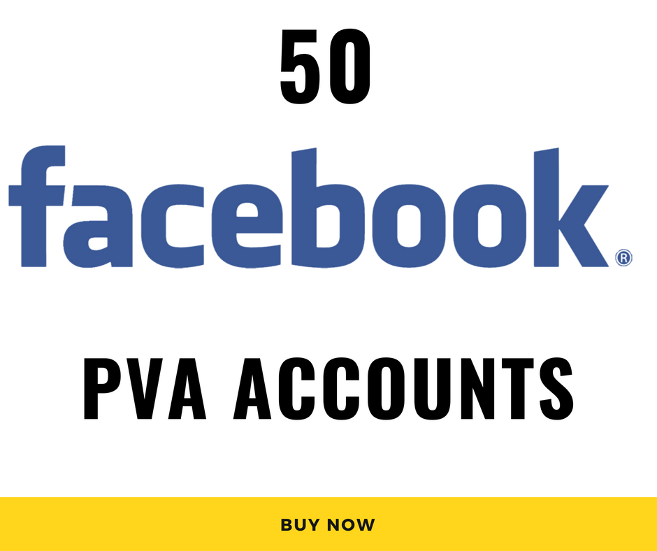 50 Facebook PVA RU accounts