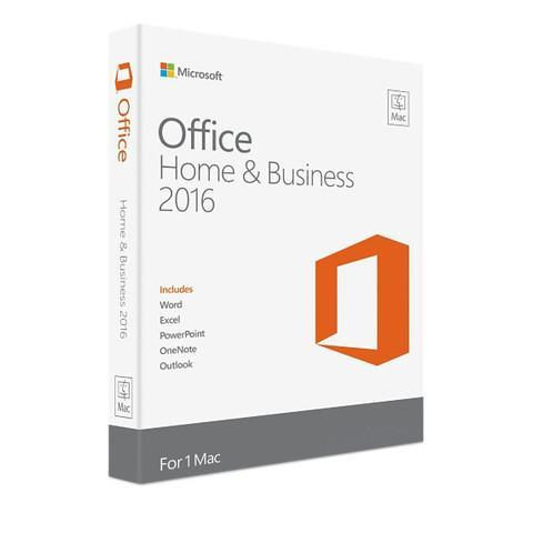 Office Home and Business 2016 for MAC License