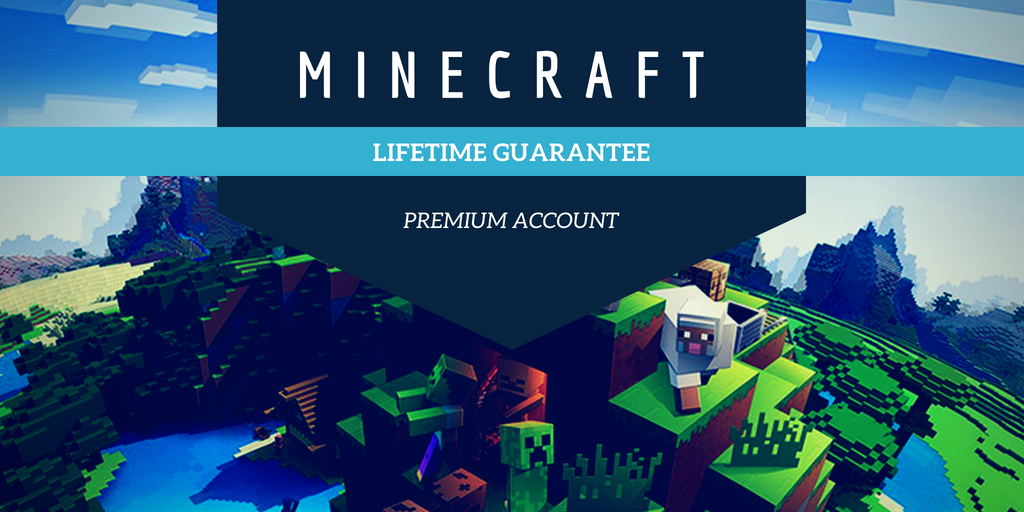 MineCraft Premium Account - Lifetime Guarantee