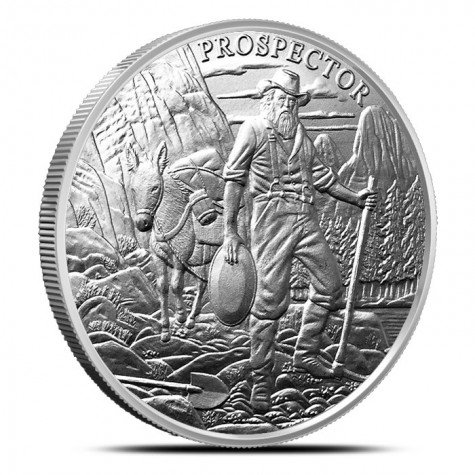 Provident Prospector 1 oz Silver Round