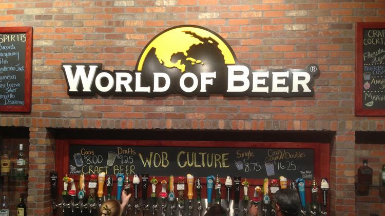 World of Beer Gift Card $50