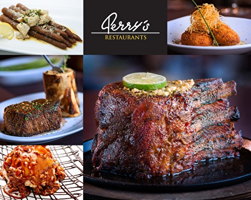 $100 Perry's Steakhouse Gift Card - INSTANT