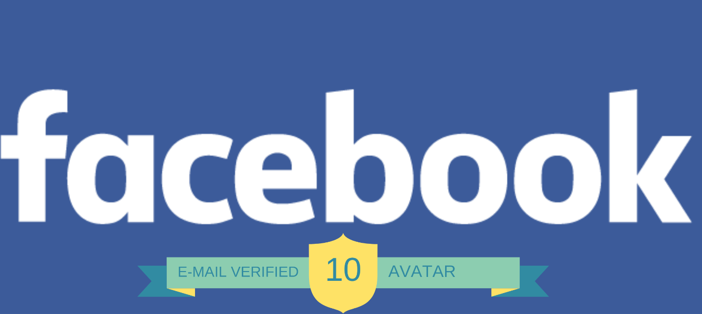 10 Facebook.com Account with Avatar not PVA