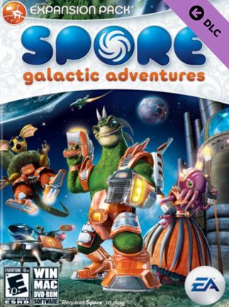 Spore - Galactic Adventures Key Origin GLOBAL