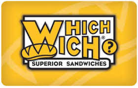 Which Wich $50 Gift Card 2x$25 INSTANT