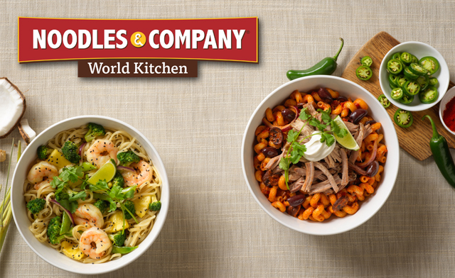 4 x $25 NOODLES GIFTCARD