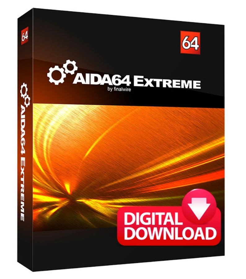 AIDA64 EXTREME FOR WINDOWS Two Pcs