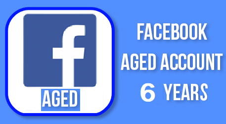 Old Facebook Account For Sale - Aged 6 Years