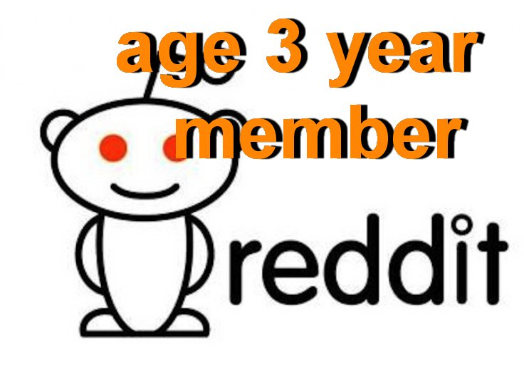 Old Reddit Accounts For Sale – Aged 3 Years