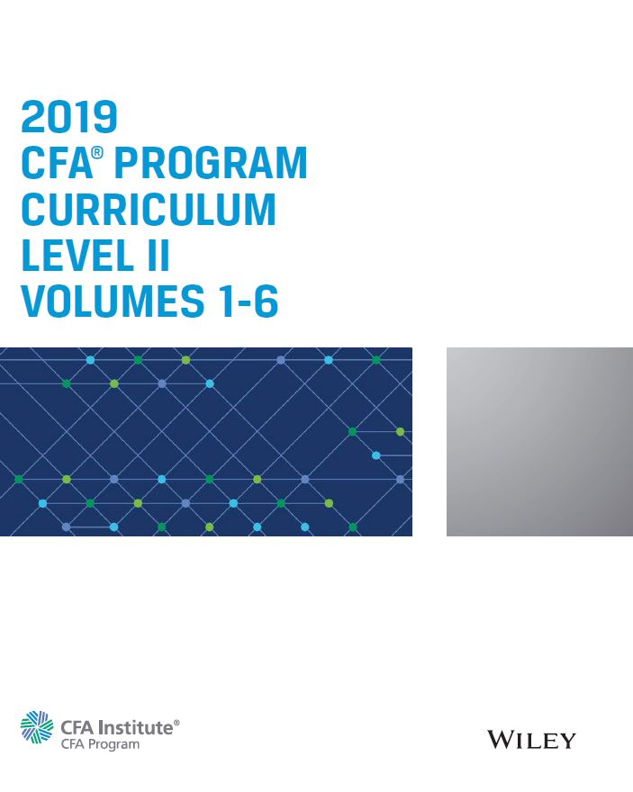 CFA 2019 Level 2 Complete STUDY PACKAGE (NEW!!)