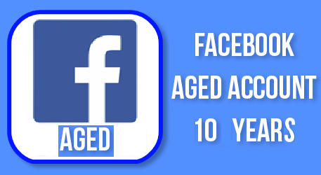 Old Facebook Accounts For Sale - Aged 10 Years