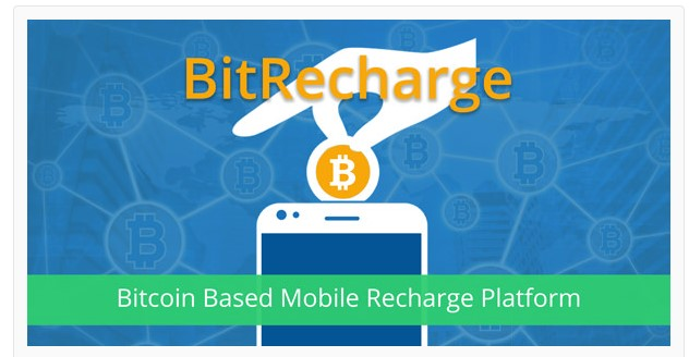 BitRecharge - Mobile Recharge System works with Bitcoin