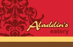 TWO (2) x $20 Aladdin\\\\'s Eatery eGift Cards