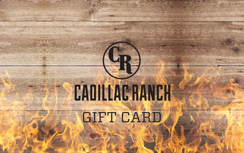 $100 Cadillac Ranch Gift Card INSTANT 4x$25