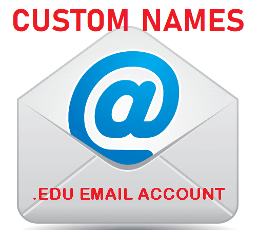 Customized Student Emails - Custom Name School EDU Mail