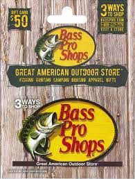 $100 in Bass Pro Shops Gift Cards (In Store Only)
