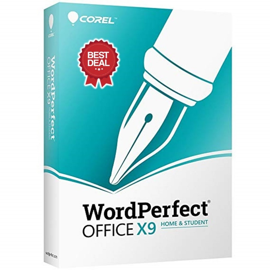 COREL WORDPERFECT OFFICE X9. HOME & STUDENT EDIT...