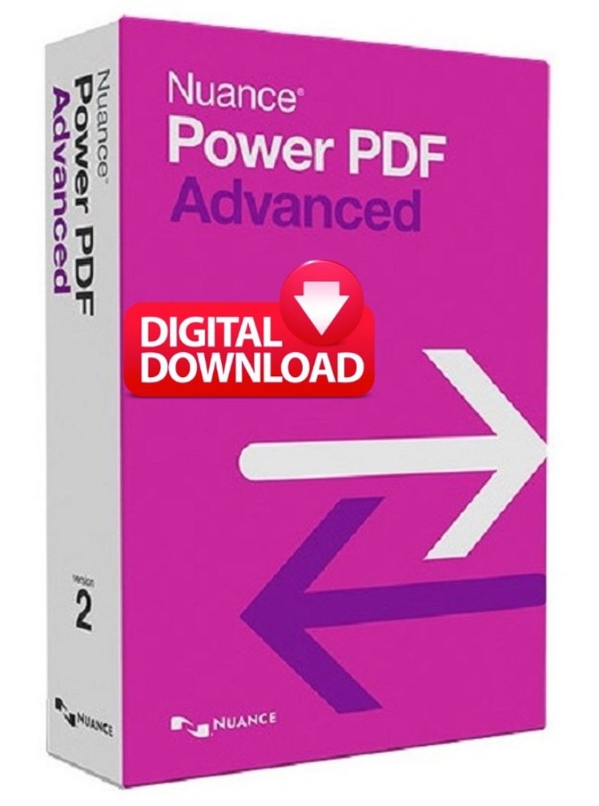 NUANCE POWER PDF ADVANCED V2.1 Four PCs 4 Keys