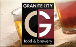 $50 Granite City Brewery Gift Card INSTANT ONECARD