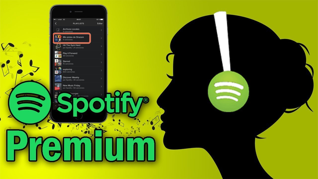 3 Spotify Premium Lifetime Account