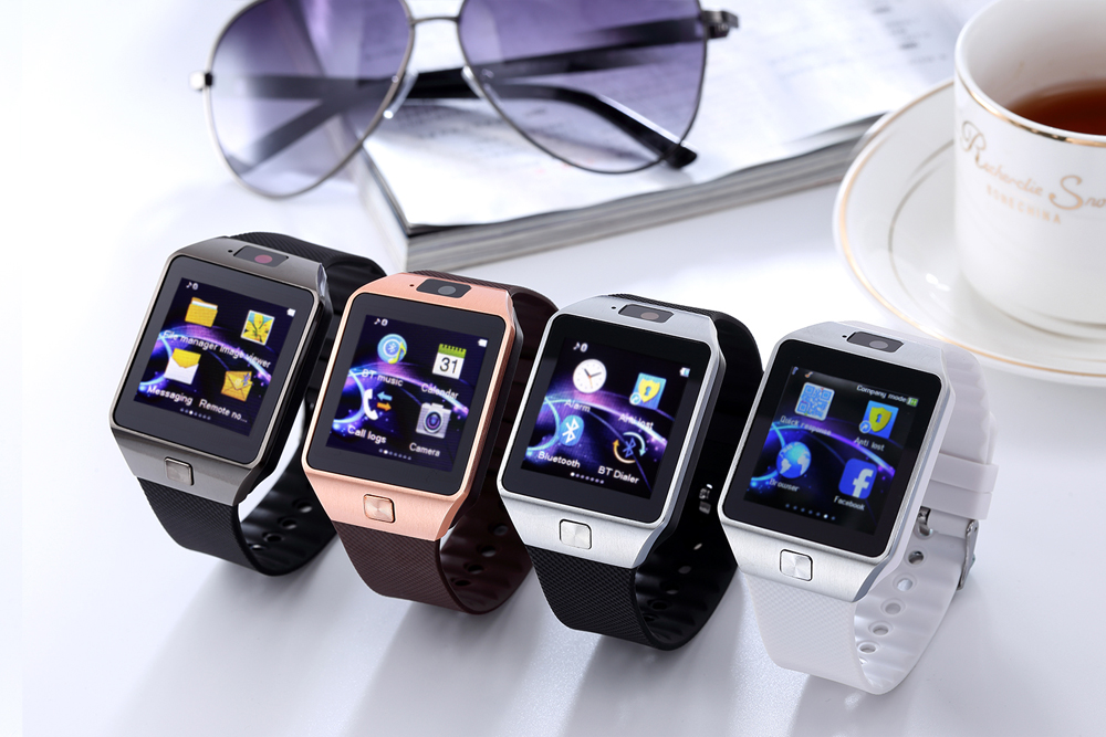 Latest smart watch +phone call + water proof.