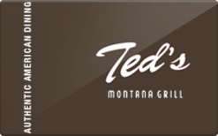 $100 Ted's Montana Grill INSTANT 4x$25 TEDS