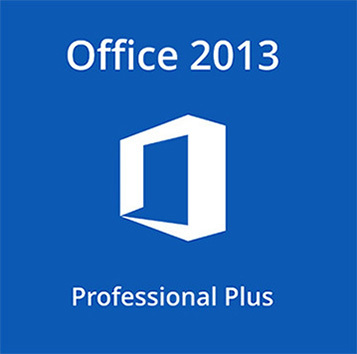Microsoft Office 2013 Professional Plus 32/64 Bit Key W