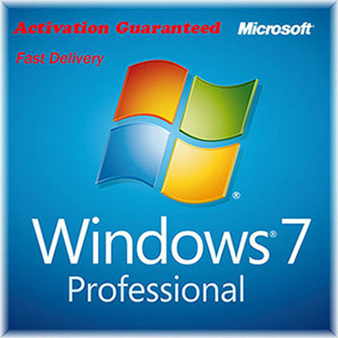 Microsoft Windows 7 Pro Professional Key & D...
