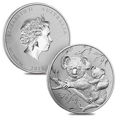2018 Australia 2 oz Silver | The Next Generation Koala