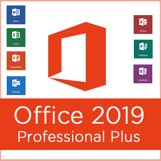 Office 2019–Office 2019 Pro Plus 10 user +all lang...