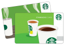 $5 STARBUCK GIFTCARD ( pin code - live long)