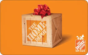 $80 Homedepot gift card
