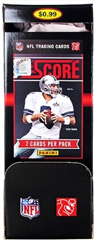 2011 Score Football 72 Pack Box