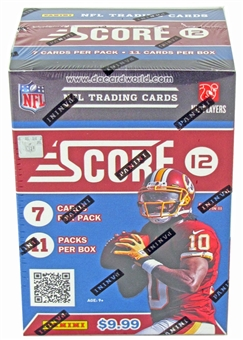 2012 Score Football 11-Pack Blaster 5-Box Lot