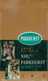 1991-92 Parkhurst Series 2 French Version Sealed Box