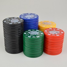 Plastic Poker Chip Grinder 2 parts
