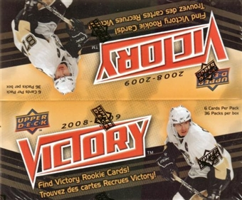 2008/09 Upper Deck Victory Hobby Box